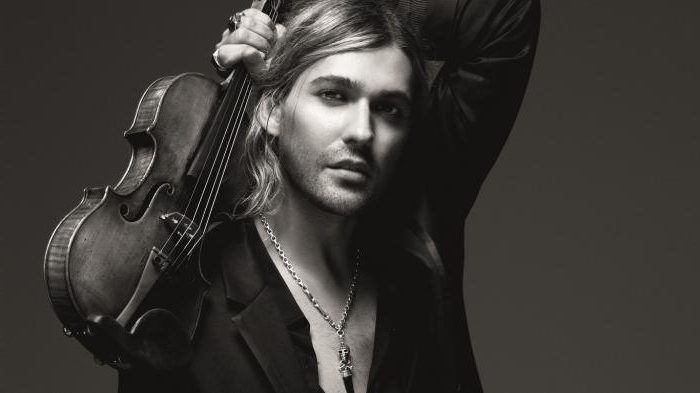 Le record de David Garrett